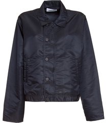 ambush buttoned no logo jacket