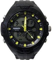 relógio speedo anadigi 81099g0eknp3 masculino
