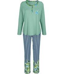 pyjama harmony marine::lichtgroen