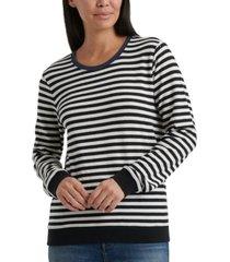 lucky brand striped sweatshirt