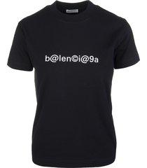 black woman symbolic balenciaga slim t-shirt