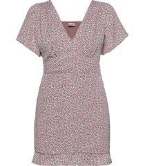 anf womens dresses kort klänning röd abercrombie & fitch
