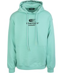 pharmacy industry mint man hoodie with logo