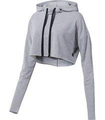 sweater reebok sport dance korte hoodie