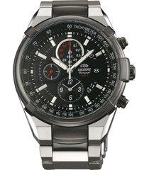 reloj deportivo bicolor orient