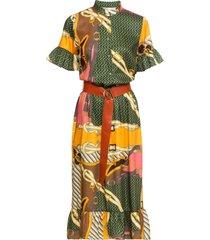 abito con cintura (fucsia) - bodyflirt boutique