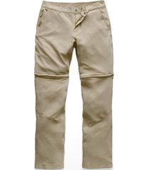 pantalon paramount convertible beige the north face