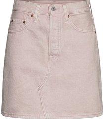 hr decon iconic bf skirt slack kort kjol rosa levi´s women