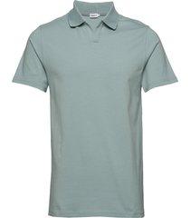 m. lycra polo t-shirt polos short-sleeved grön filippa k