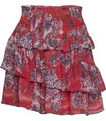 herty kort kjol röd iro