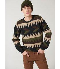 sweater marrón prototype snow
