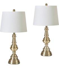 jla set of 2 cape table lamps