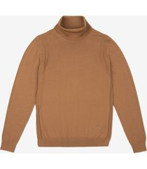 b-chain turtle neck brown 56