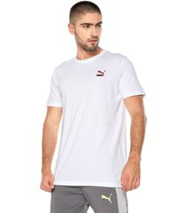 camiseta blanco puma classics emb