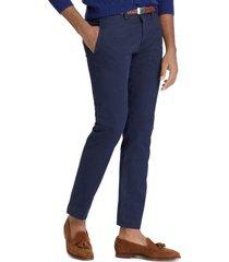 pantalon straight bedford chino azul polo ralph lauren
