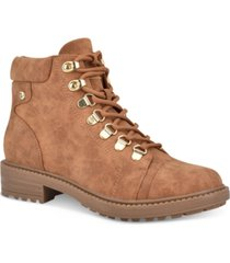 gbg los angeles got it lace-up booties women's shoes