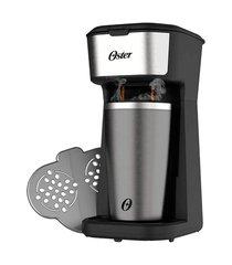 cafeteira oster ocaf200 2day inox 2 em 1 c/copo térmico preto/inox 110v 110v