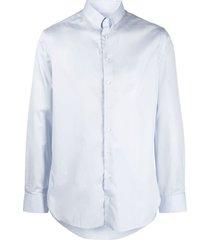 giorgio armani classic woven shirt