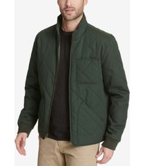 dockers men's quilted depot bomber jacket