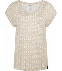 claire allover print shirt