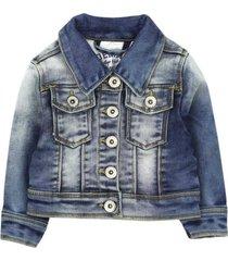 chaqueta denim azul ficcus