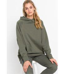 hoodie met knoopjes