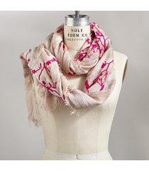 velvet blossom scarf