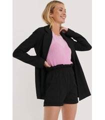 trendyol pocket detail bermuda shorts - black