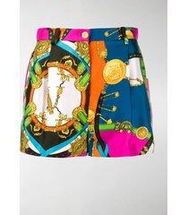 versace barocco rodeo shorts