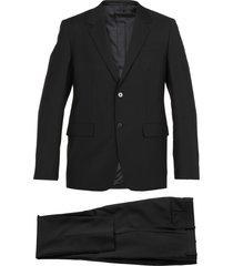 jil sander virgin wool and mohair suit