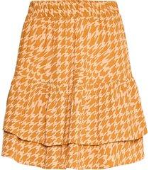 nuballou skirt kort kjol orange nümph