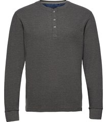 tee t-shirts long-sleeved grå blend