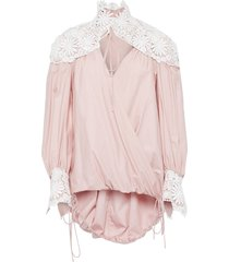 rosie assoulin blouses