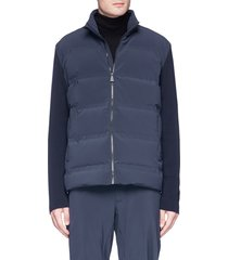 'dale of aspen' down puffer sweater jacket