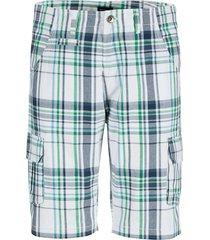 bermuda babista wit::turquoise::groen
