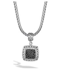 women's john hardy 'classic chain' square pendant