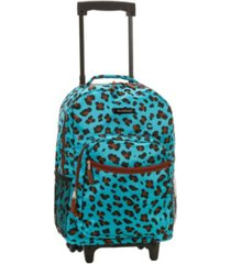"rockland 17"" rolling backpack"