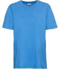 ecologisch t-shirt voor hem & haar, jeansblauw m