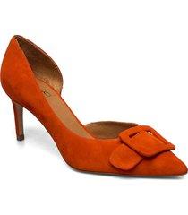 pumps 4582 shoes heels pumps classic orange billi bi