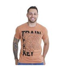 camiseta masculina adulto lav train honorkey