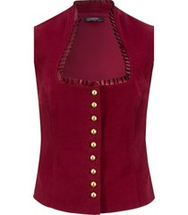 gilet bavarese (rosso) - bpc bonprix collection