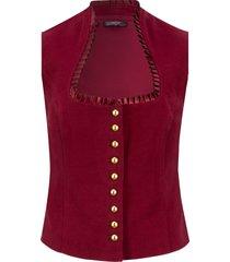 gilet bavarese (rosso) - bpc bonprix collection
