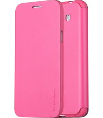 x-level slim flip stand leather phone case for samsung galaxy grand 3 g7200 - ro