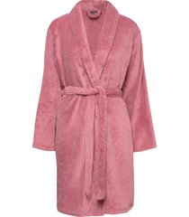 cornflocker fleece robe short morgonrock rosa missya