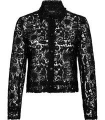 3180 - kaela overhemd met lange mouwen zwart sand