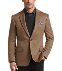 joseph abboud limited edition light brown modern fit sport coat