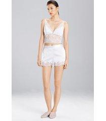 sleek silk shorts sleepwear pajamas & loungewear, women's, size l, josie natori