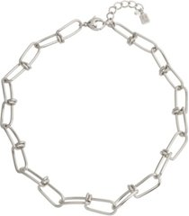robert lee morris soho knotted link collar necklace