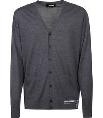 dsquared2 regular buttoned cardigan