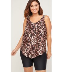safari view tankini top